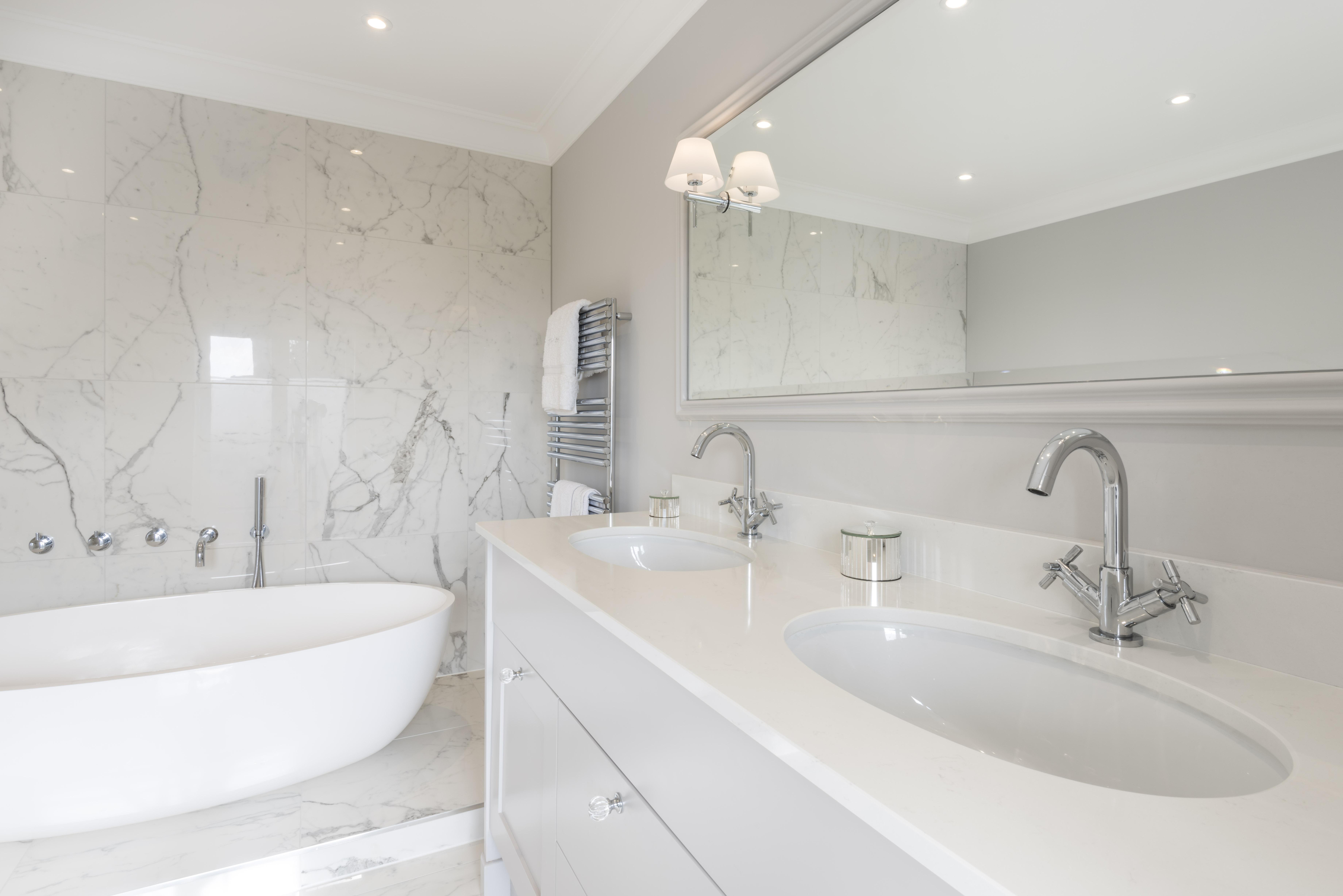 Dekton Clad Bathroom With Silestone Shower Tray Henderstone